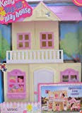 Barbie KELLY POP UP PLAY HOUSE - 3 Room PLAYHOUSE w Furniture, Backyard Swing & MORE! (1999)