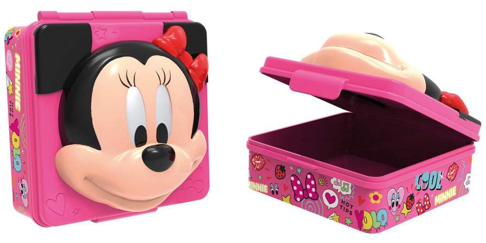Disney Sandwichera 3D de Bolsas t/érmicas