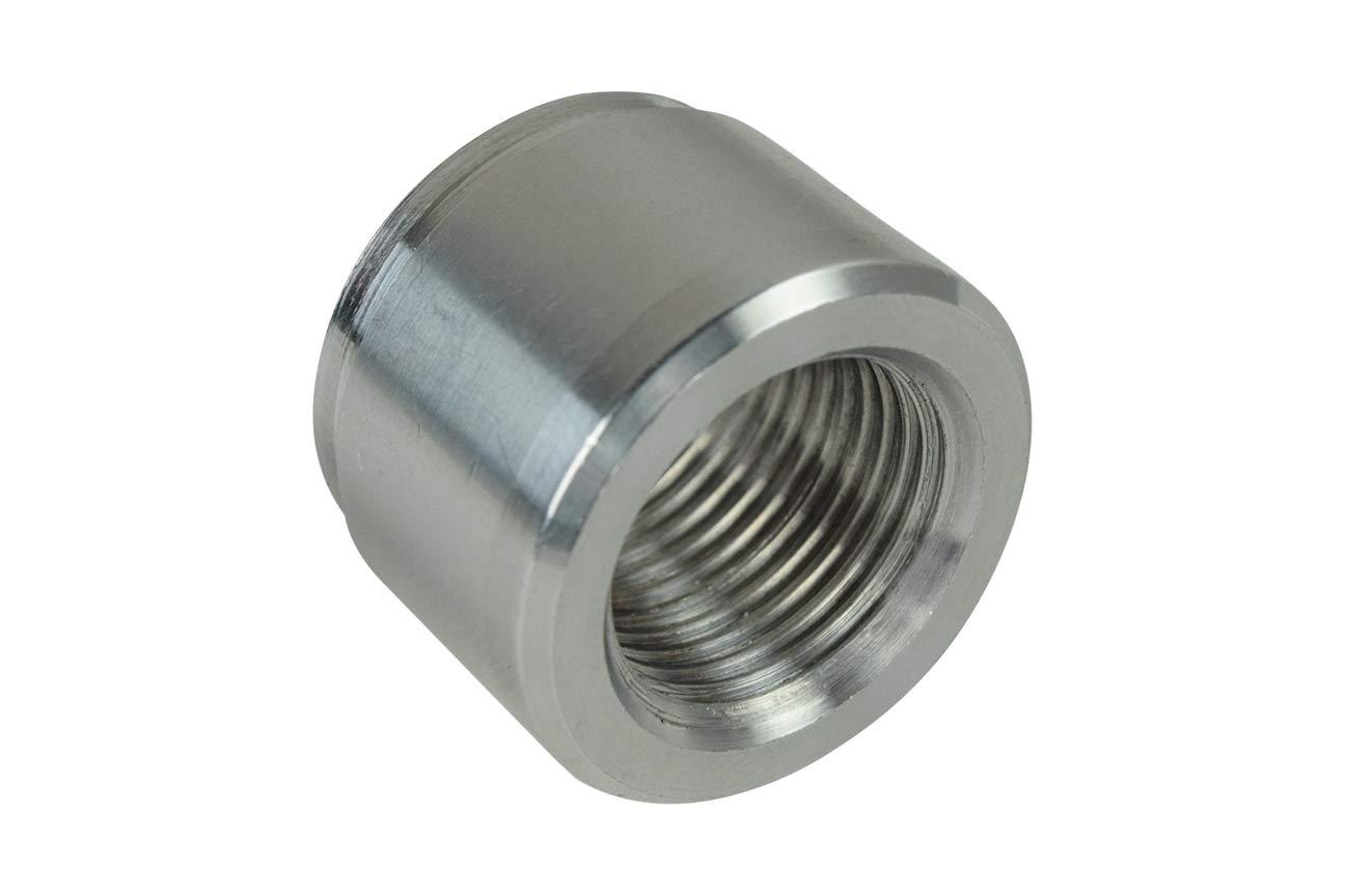 Aluminum M16-1.5mm Weld On Bung Female LS LS1 Oil Pressure Sensor Metric 16mm FM1615BUNG