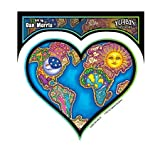 Dan Morris - Earth Heart - Sticker / Decal