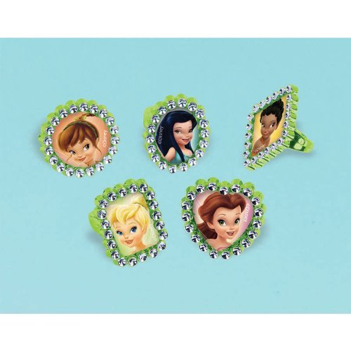 Tinker Bell and the Disney Fairies Jewel Rings / Favors (18ct) ()