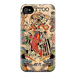 Protective Hard Phone Covers For Iphone 6plus With Unique Design Vivid Ed Hardy Japanese Tattoo Image SherriFakhry