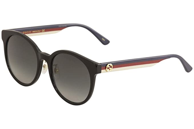 Amazon.com: Gafas de sol Gucci GG 0416 SK- 001 BLACK/GREY ...