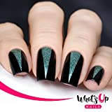 Whats Up Nails - Triangle Tape Nail Stencils Stickers Vinyls for Nail Art Design (2 Sheets, 100 Strips Total)