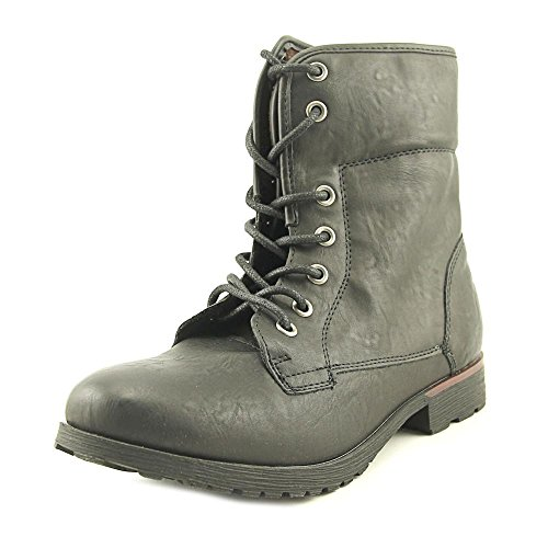 Combat Ankle CANDY 8 Boots Black Toe Spraypaint Womens Closed 5 Size ROCK amp; 6qw00T