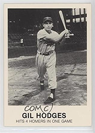 Amazoncom Gil Hodges Ungraded Comc Good To Vg Ex Baseball