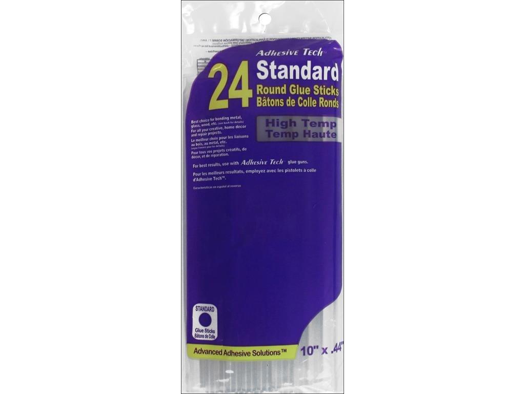 Ad-Tech 11ZIP24 High Temp Glue Stick, 7/16-Inch x 10-Inch, 24/Pack