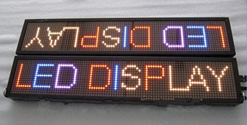 GOWE 1pcs sell/led indoor colorful display/16*96dots/double sides/programmable/red+green+yellow+red+blue+pink/mixed-color 2