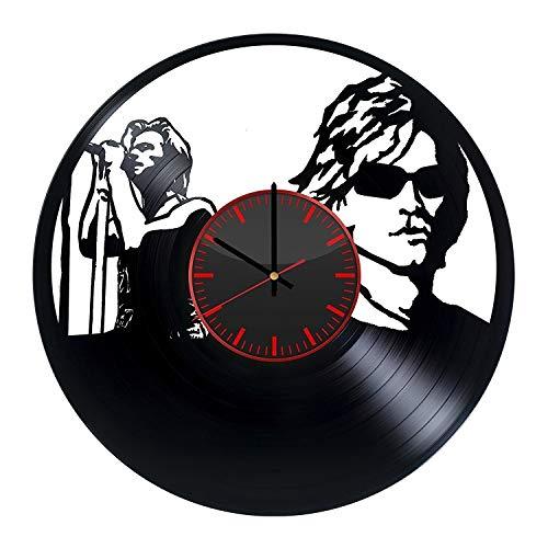 Bon Jovi Fan Art Design Vinyl Record Wall Clock - Get Unique Bedroom or livingroom Wall Decor - Gift Ideas for Boys and Girls Perfect Element of The Interior Unique Modern Art