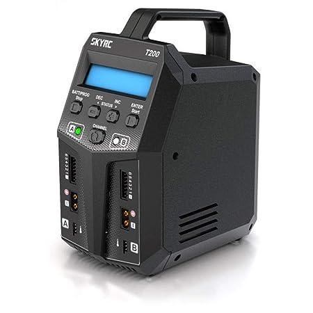 XuBa Sky/RC T200 2X100W 12A AC/DC - Cargador de batería Dual ...