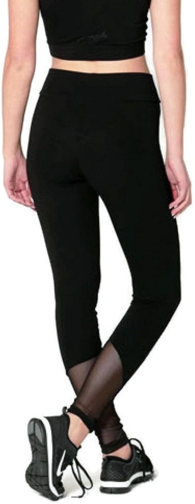 PINEAPPLE Dancewear Womens Wrap Logo Leggings Charcoal with Rose Gold Logo