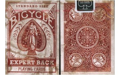 French Deck (Bicycle Distressed Expert Back Playing Cards)