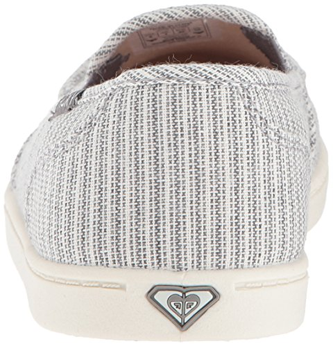 Women's Grey Shoe Sneaker Minnow Roxy Slip on WxawnFFUq6