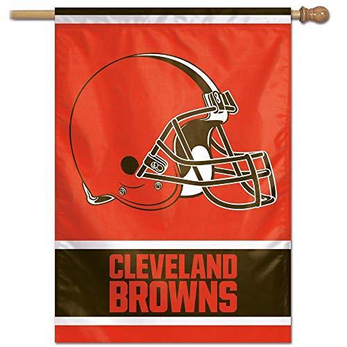 Bandeira Vertical 70x100 Logo Team Cleveland Browns