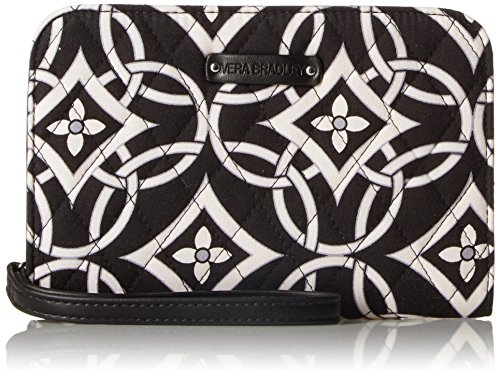 Vera Bradley Zip-Around Wristlet, Concerto, One Size