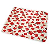 Crib with Change Table Canada JINYOUR Canada Maple Leaf Diaper Change Pad Portable and Foldable Changing Mat (25.5â€x31.5â€)