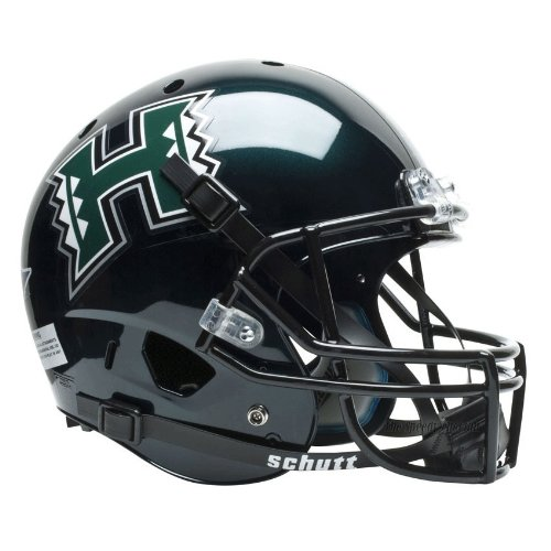 Hawaii Helmet Warriors (NCAA Hawaii Rainbow Warriors Replica XP Helmet)