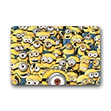 "HomieProduct Decorative Doormats The Minions Custom Non Slip Indoor/Outdoor Doormat (23.6""x15.7"")"