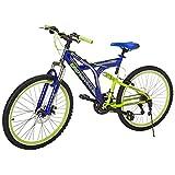 Benotto Bicicleta Rush MTB Acero R26 21V Hombre Sunrace Frenos Disco Delantero