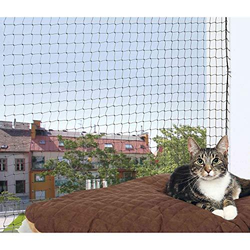 TRIXIE Red protección, 6 x 3 m, Negro, Gato