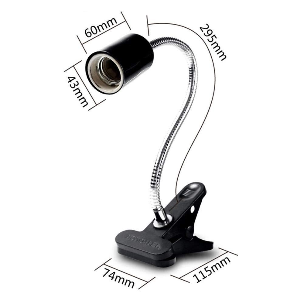 Soporte flexible para lámpara de techo con clip para ...