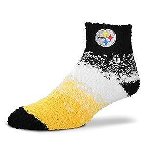 Pittsburgh Steelers Marquee Sleep Soft Socks, OSFM at Steeler Mania