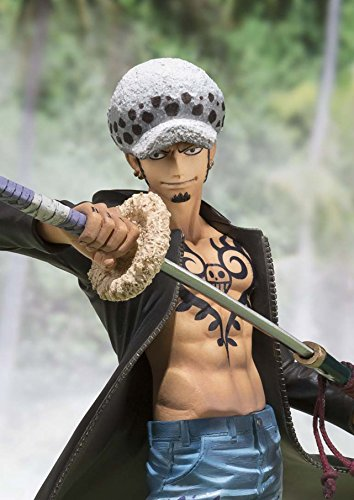 "Bandai Tamashii Nations Figuarts Zero Trafalgar Law Dressrosa Ver ""One Piece"" Action Figure"