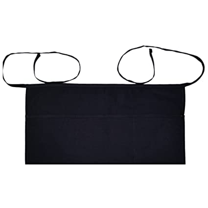b9291a97537c Amazon.com: Chefs Closet 3-Pocket Waist Apron Full Size with Extra ...