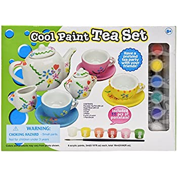 totally me paint your own tea set instructions