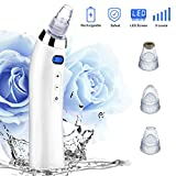 Blackhead Remover Blackhead Vacuum Pore Vacuum Microdermabrasion Machine Bueatybella acne Extractor Comedo Suction Rechargeable Electric dermabrasion Facial Comedone Acne for Skin Tool set Review