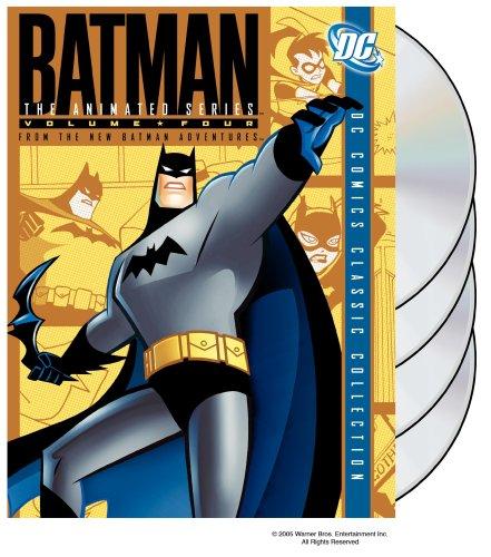 DVD : Batman: The Animated Series: Volume 4 (, Standard Screen, 4 Disc)