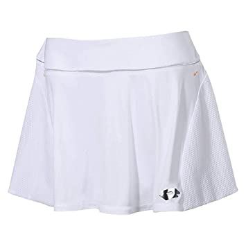 Lotto Nixia III W Falda de Tenis, Mujer, Blanco (Wht), XL: Amazon ...
