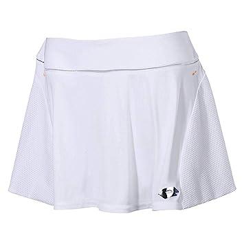 Lotto Nixia III W Falda de Tenis, Mujer, Blanco (Wht), XL