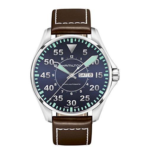 Hamilton Khaki Aviation Pilot Automatic Mens Watch Ref H64715545
