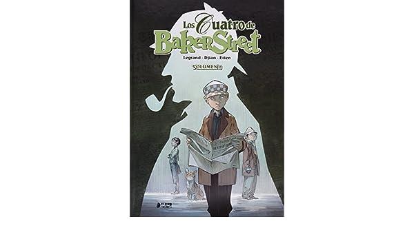 Los cuatro de Baker Street nº 2: Olivier/Djian, Jean Blaise/Etien, David Legrand: 9788416428472: Amazon.com: Books