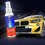 Car Hydrophobic Spray-Aolvo 100ML Super Hydrophobic High Gloss Ceramic Car Coating Kit Scratch Resistant Exterior Care Car Polisher 9H Coating Car Kit Nano Tech Auto Detailing Supplies