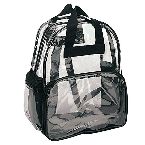 ProEquip Travel Bag Clear Unisex Transparent School Security Backpack (Clear)
