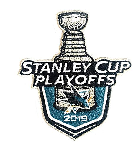 2019 Stanley Cup Playoffs Patch Sharks Jersey Patch ()