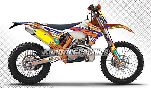 dhl-acerbis-pattern-graphics-kit-fit-ktm-300-500-exc-exc-f-xcw-xcf-w-with-headlight-cover-free-to-pu