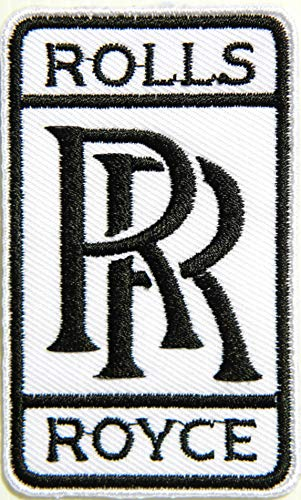 - Rolls Royce Automobile Motor Classic Car Logo Sign Patch Iron on Applique Embroidered T Shirt Jacket Cloth