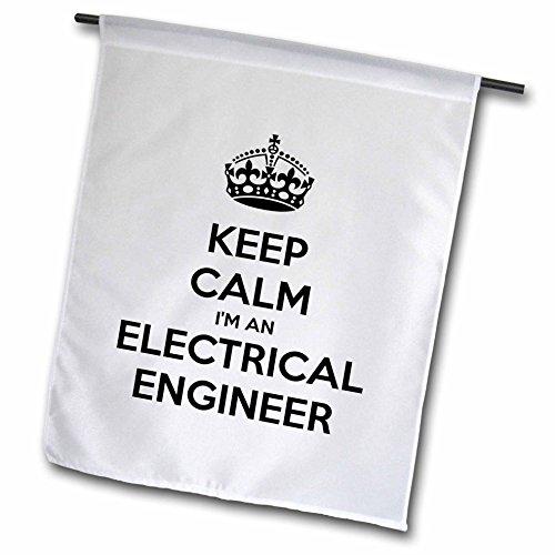 db6a7646b EvaDane - Funny Quotes - Keep calm Im an electrical engineer. - 12 x 18  inch Garden Flag (fl_193548_1) - Buy Online in UAE. | 3drose Products in  the UAE ...
