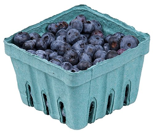 Home Comforts Canvas Print Diet Blueberries in Healthy Vitamins Fruits Eat Stretched Canvas 32 x 24
