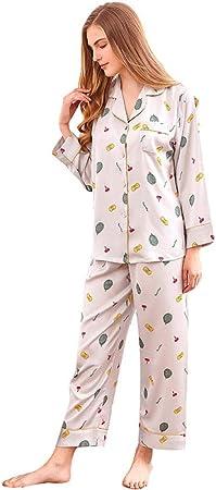 Pijama Para Mujer,Conjunto De Pijamas De Mujer 2 Piezas De ...