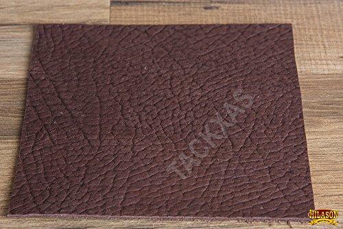HILASON PREMIUM FULL GRAIN LEATHER HIDE PIECES 5-6 OZ BROWN TAN (0.25 - 12sq ft) (Hides Leather Chap)