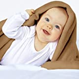 Jago KSDK03-Apple Cinnam - Throw Blanket Fleece Blanket Supersoft Warm 150x200 cm (Beige)by Jago