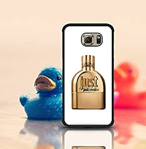 Hard Plastic Protective Cover For Galaxy S6 Edge Just Cavalli Cute Style Anti Dust Dust-proof Hard Skin Back Funda Case Cover Compatible With Samsung Galaxy S6 Edge (Suit for S6 Edge)