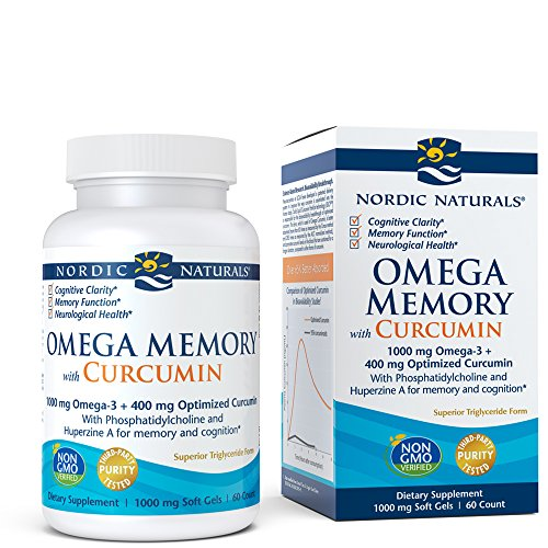 Nordic Naturals Omega Memory Curcumin - Supports