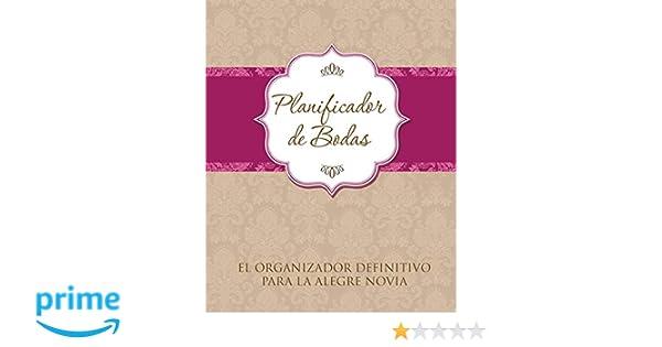 Amazon.com: Planificador De Bodas: El Organizador Definitivo ...