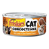Purina Friskies Cat Concoctions with Lamb in Clam Flavored Sauce Cat Food, 5.5 Ounce Can by Purina Friskies For Sale