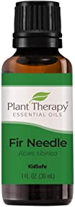 Plant Therapy Fir Needle Essential Oil 30 mL (1 oz) 100% Pure, Undiluted, Therapeutic Grade